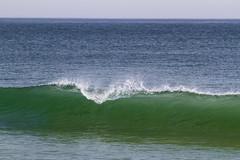 Looking Into the Green 2 (brucetopher) Tags: ocean sea beach wave surf surfing hollow atlantic cold water wet break breaking curl lift breaker crest crash face shallow bar sandbar coast coastal seacoast green blue