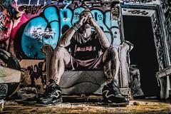 DSC_0213-Edit-2 (One click closer photography) Tags: comic hero grafitti santorini mike