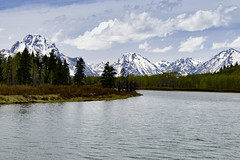 Oxbow Bend III (rschnaible) Tags: grand teton national park west western us usa sightseeing tour tourist outdoor oxbow bend snake river wyoming mountains landscape