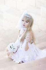 Kotori Minami Wedding - Love Live! (Florent Joannès) Tags: shooting shoot photo photography portrait photographie modeling mode marseille makeup wig kotori minami irina lovelive manga cosplay 50mm 2017