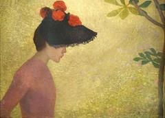 Jeune fille de profil d'A. Maillol (musée Hyacinthe Rigaud, Perpignan) (dalbera) Tags: dalbera perpignan france muséedarthyacintherigaud aristidemaillol jeunefille