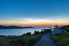 Midnight Glow (Ryan Jeske) Tags: loch longexposure canon nightphotography midnight sky ocean tripod stars wideangle canon7dii landscape nighttime canonefs1022mm sirui scotland
