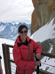 Alps Trip 1132m (mary2678) Tags: aiguille du midi chamonix europe honeymoon mont blanc mountain mountains sky cloud clouds snow marielle rick steves myway way alpine tour french alps