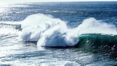 Swell. (Rose Slr) Tags: coogee july winter australia sydney blue break surf wave swell ocean sea water