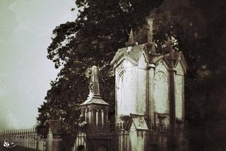 Oude begraafplaats in België