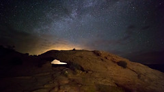 Mixing Light Sources at Mesa Arch (Ken Krach Photography) Tags: canyonlandsnationalpark mesaarch