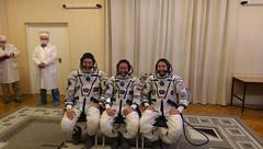 Sokol suit check for Expedition 52/53 crew (europeanspaceagency) Tags: paolonespoli exp5253 sokol spacesuit fitting baikonurcosmodrome vita mission internationalspacestation roscosmos nasa esa