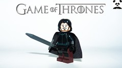 2 - Jon Snow (Random_Panda) Tags: lego figs fig figures figure minifigs minifig minifigures minifigure purist purists character characters film films movie movies television tv game of thrones season 1 7 white walker eddard ned stark premiere jon snow tyrion lannister cersie jaime arya sansa george r martin winterfell the north wall kings landing baratheon tyrell arryn sam samwell tarly nightwatch king wildlings kit harrington