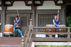 Disney World: Epcot - Japan Pavilion - Matsuriza (wallyg) Tags: amusementpark baylake disneyworld epcot florida matsuriza orangecounty orlando themepark waltdisneyworldresort worldshowcase drummers drumming matsurizataikodrummers taikodrummers taiko taikodrumshow