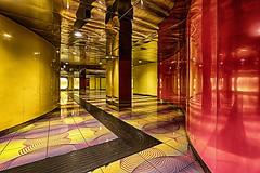 Universita 7 (isnogud_CT) Tags: universita linea1 ubahn underground statione bahnhof neapel italien