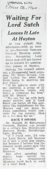 Rock The ARK (Knowsley Archives) Tags: music musician beatles screaming lord sutch harold wilson politics politicians election huyton knowsley lancashire merseyside archive archives newspaper history heritage 1960s 1964