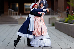 ComicCon-2017_U_008 (Besisika) Tags: montreal comic con 2017 palais de congres cosplay cosplayer manga convention anime best friends lady girl woman outdoor canon 135mm f2