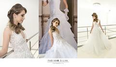 Geovana Salvador (Fabiano Silva Fotografia) Tags: wedding ensaio hair make fashion casamento fabianosilva clothers model modelo vestido noiva beleza beautiful girl