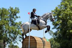 Cross-country at Kentucky Horse Park - Cathryn Green (Tackshots) Tags: eventing horsetrials crosscountry lexington kentucky horsepark champagnerun horse riding jumping