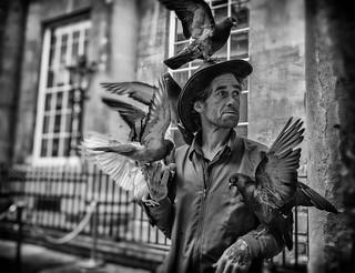 street portrait - birdman paul