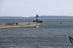 Sassnitz, Hafen, Steuerbordmole (julia_HalleFotoFan) Tags: rügen inselrügen sassnitz fährhafen jasmund hafen