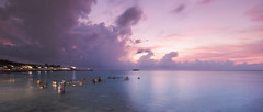Ritual bath (Vinith GR) Tags: sonya6000 rameswaram rameshwaram tamilnadu india southindia holy holistic spritual sea seascape clouds earlymorning sunrise sony1018mm wideangle landscape longexposure