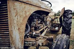 Rusty Tractor (nigelboulton72) Tags: farm farming machinery tractor old corrosion corrode rust rusting rusty