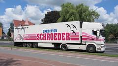 Scania – Spedition Schroeder (LKW-Fotos) Tags: scania spedition schroeder sattelzug sattelschlepper lkw truck