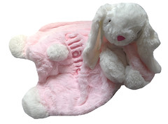 Baby Play Mat - Bunny (initial_impressions) Tags: embroidered personalized babyplaymat bunny