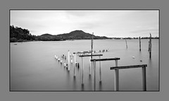 TWB_5149 (xxtreme942) Tags: malaysia pulausibu island milkyway sunset longexposure 10stopper ndfilter sky outdoor nature brfoken jetty bw blackandwhite