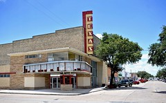 Texas Theater - Kingsville,Texas (Rob Sneed) Tags: architecture boxoffice cinema texastheater usa texas kingsville sign neon vintage urban brick downtown americana texana business closed advertising street corner southtexas us77 marquee