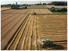 Grain harvesting (Peter L.98) Tags: kap flare minimalrig canons110 dortmund felder getreide mähdrescher natur pendel
