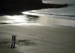Coucher de soleil à Trestrignel (claude 22) Tags: trestrignel perrosguirec trégor sandy beach sable bretagne breizh armor cotes 22700 tregor landscape france claude22 bretagna francia bretaña granite rose plage panorama paysage littoral sony rx100 côte océan mer eau britain sunset coucher soleil
