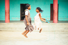 Photo of the Day (Peace Gospel) Tags: girls children orphans friends friendship playing play playtime playground jumprope jumping outdoor happy happiness joy joyful peace peaceful hope hopeful thankful grateful gratitude loved empowerment empowered empower