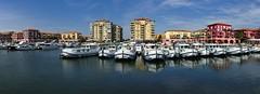 Port Ariane Lattes (Marc ALMECIJA) Tags: eau mer sea bateau boat lattes hérault port harbour urban urbain architecture