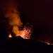 Une explosion de lave