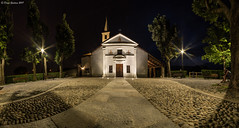Il Santuario di San Vito del mio piccolo paesello a Nole (TO) (DiegoGuidone) Tags: piemonte torino panorama picture canon eos italy italia art desktop sfondi sfondo tema diego guidone belle foto colori colors photo photografy fotografia pictures geotagged landscape light photocard wallpapers good cove concordians tetto architettura edificio 6d notte skyline bordo di una città allaperto sole nuvola cielo calma sigma 150600 collina paesaggio montagna cima catena montuosa pont canavese neve chiesa santuario san vito nole