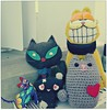 Nuevos amigos de Pusheen (MaPeV) Tags: gatos cats chats kawaii felin neko gatti gattini gattoni tabby chat katze gato kitty tabbyspoted powershot canon g16 garfield pusheen mau