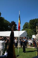 IMG_3125 (Patrick Williot) Tags: waterloo fetes communal parc juillet discours drapeau