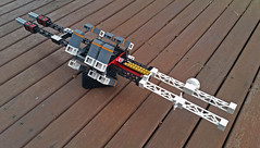 MARY POPPINS automated transport vessel (Shannon Ocean) Tags: drone transport spaceship deepspace model