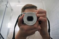Self Portrait (samward5) Tags: andreas feininger photojournalist self mirror nikon