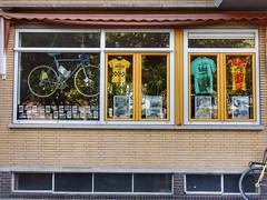 Tour de Windows (sander_sloots) Tags: tour windows rotterdam france wielrennen cycling bicycle wielrenfiets racing cycle fiets jersey truien tourdefrance ronde van frankrijk bentincklaan blijdorp raam