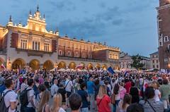 IMGP7314 (TomaszMazon) Tags: protest democracy krakow poland court antigovernment crowd