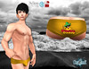 Nacho Daddy Briefs Poster (stephentryce) Tags: sl secondlife daddy brief speedo beach romance men gay