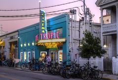 Tropic Cinema (kyle.tucker95) Tags: keywest florida floridakeys theater movies tropiccinema dusk hdr photomatix canon eos7d eatonstreet duvalstreet