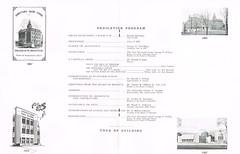 Centennial Celebration & Dedication booklet p.5-6 (terry lorenc) Tags: jhs class 1967 jamestown high school new york