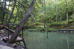 The swing (zamo86) Tags: nature decew falls niagara st catharines ontario waterfall