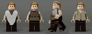 Lego Anakin Skywalker - Incognito on Naboo