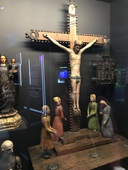 Automaton Crucifixion Scene, Science Museum Robots Exhibition (Loz Flowers) Tags: london londonmuseums thesciencemuseum robotsexhibitionsciencemuseum jesuschrist crucifixion automatons