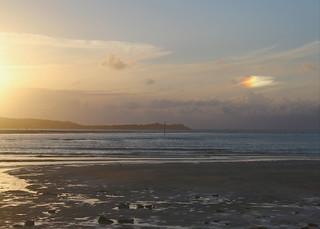 Cornish Summer partial solar halo (Gay Pride Cloud)