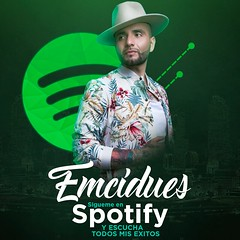 Emcidues Spotify By Bass (Bass Design) Tags: emcidues cover chile cantante music musica chilena fiesta party design desing art arts bassdesign emci dues mc mixtape spotify