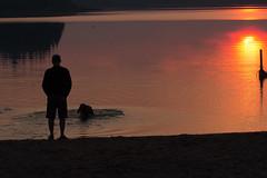 IMG_4179 (d_propp) Tags: elkislandnationalpark astotin lake astotinlake sunset sun sky water summer