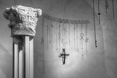 Crosses (G-daddyArt) Tags: israel museum jerusalem crosses pilaster shadow blackandwhite monochrome christian