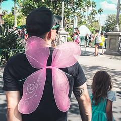 Pixie Dad @Hollywood Studio (Schwabenknipser) Tags: street disney candid florida people olympus omd