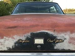 New Yorker 2 (plasticfootball) Tags: kilbourne illinois cars chrysler newyorker rust